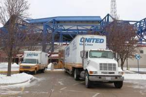 I-Go Van and Storage Co.(United Van Lines) moving equipment