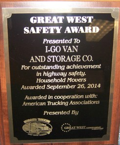 2014 safety award