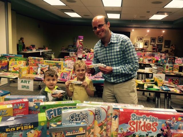 Child Savings Substitute Santa 2014