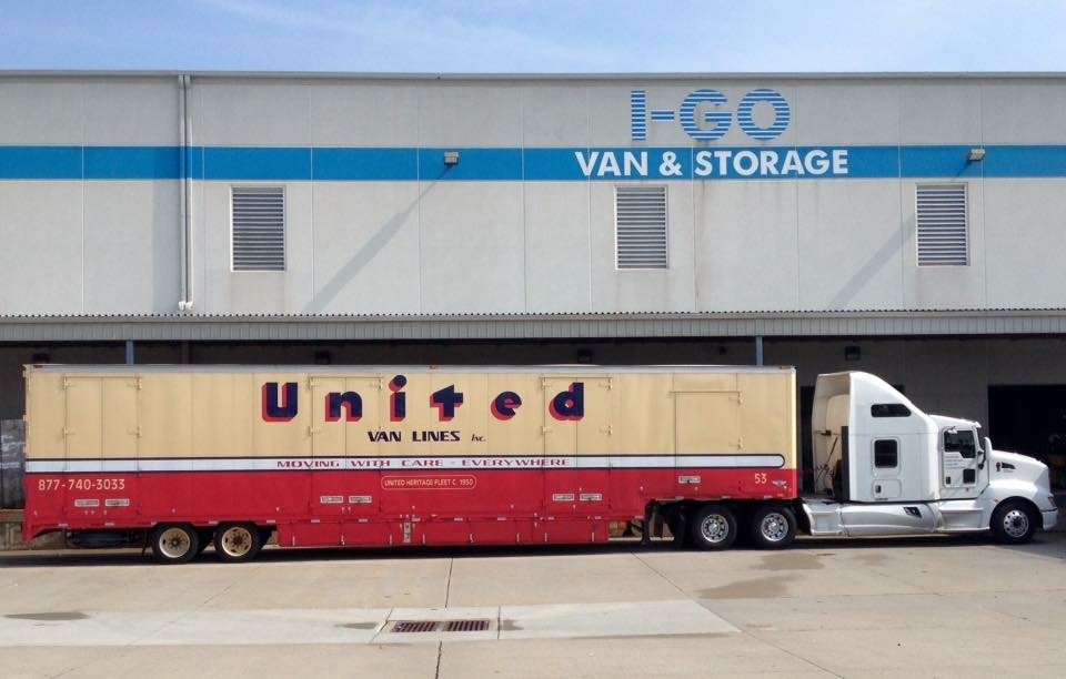 Retro United Van Lines Trailer Shows Up At I Go Van And